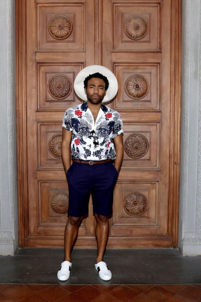Celebrity Style Inspiration: Donald Glover in Gucci