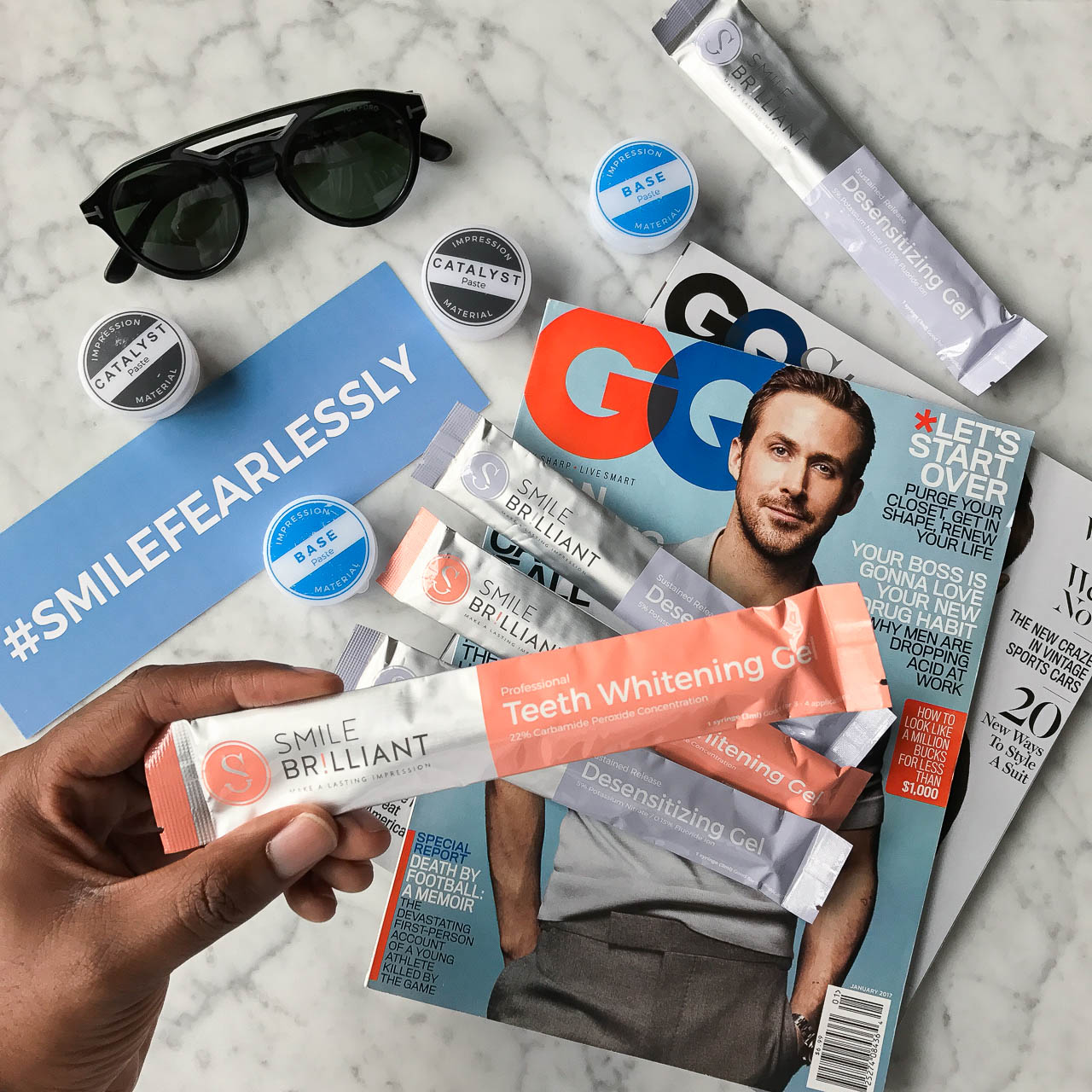Teeth Whitening at Home   Smile Brilliant Giveaway