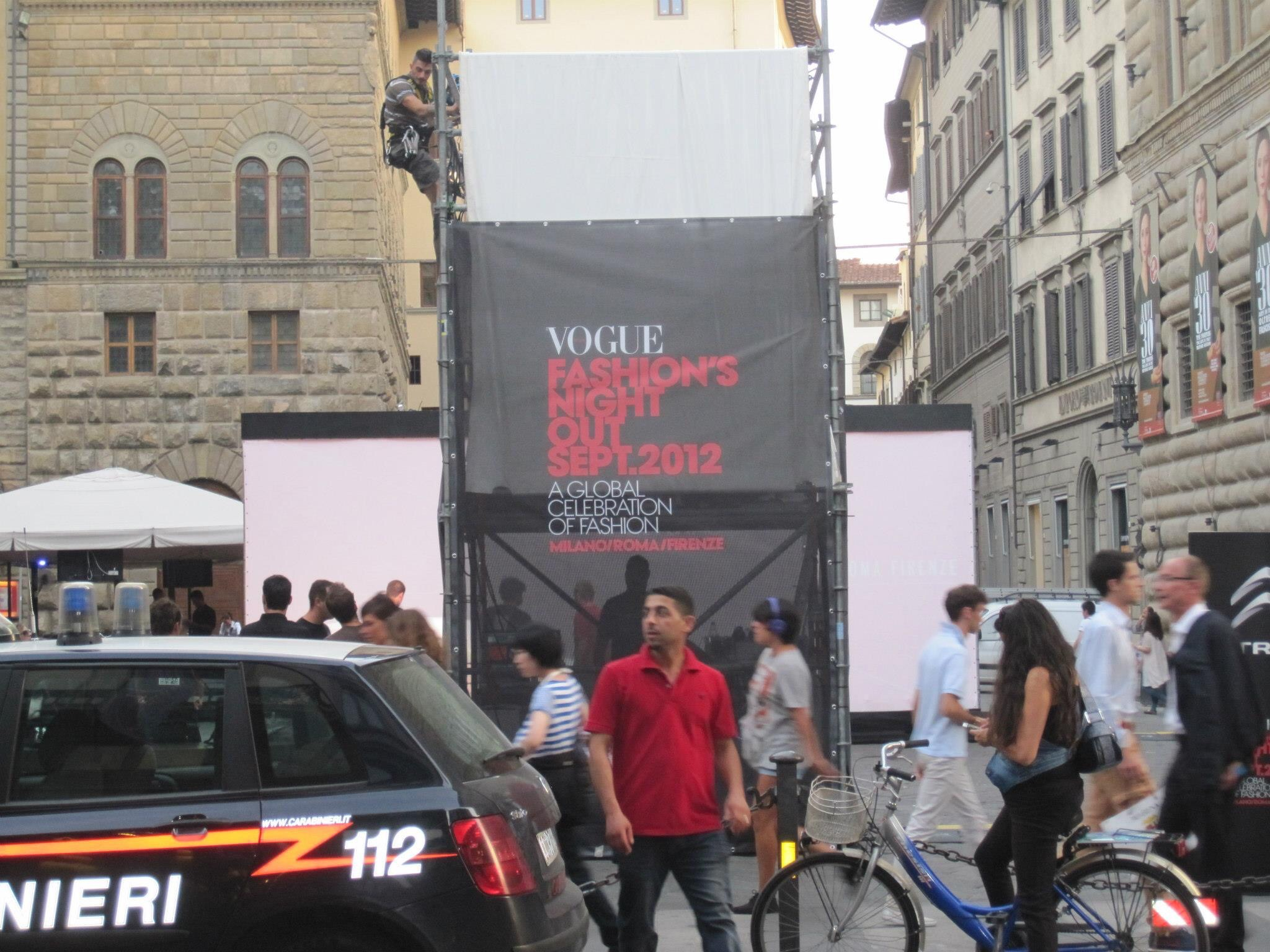 First Annual Vogue Fashion's Night Out: Florence