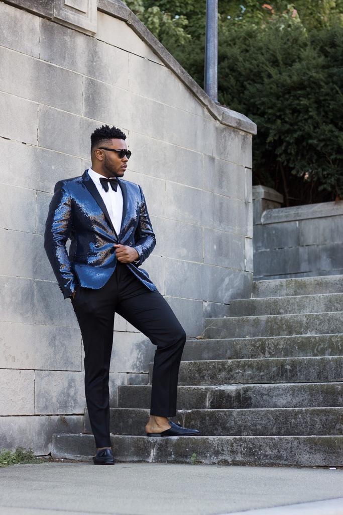 Where to Buy a Men's Sequin Blazer this Season